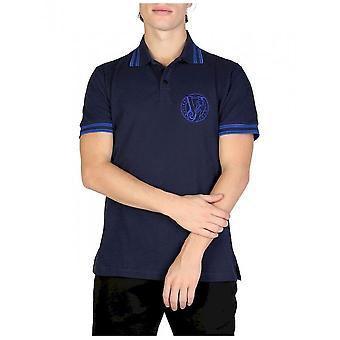 Versace Jeans - Bekleidung - Polo - B3GSB7P1_36571_238 - Herren - navy - 46