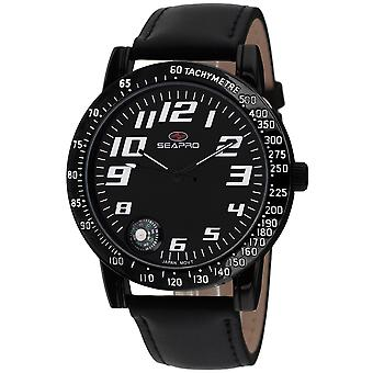 Seapro Men's Raceway Black Dial Watch - SP5112
