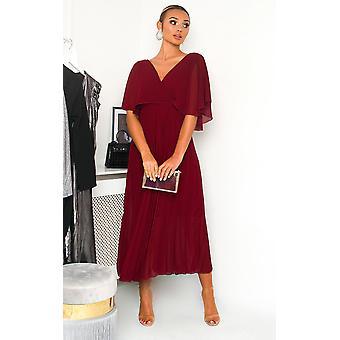 IKRUSH mujer Michaela plisado vestido Maxi