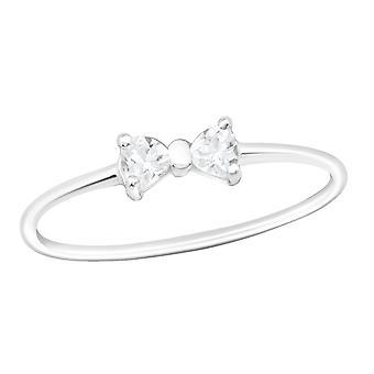 Bow - argento 925 gioiello anelli - W20662X