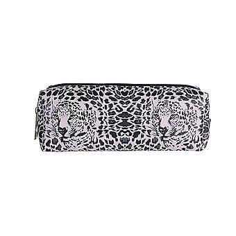 Jewelcity Womens/Ladies Zebra Camo Leopard Pencil Case/Makeup Bag