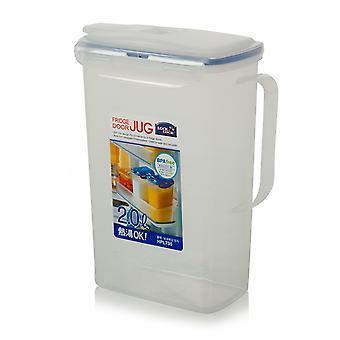 Lukko & lukko 2 litran jääkaapin ovi kannu tiiviste tiivis kansi ja Flip Top nokka