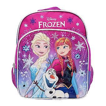 Mini Backpack - Disney - Frozen - Elsa/Anna Snowflake Pink New 006921-2