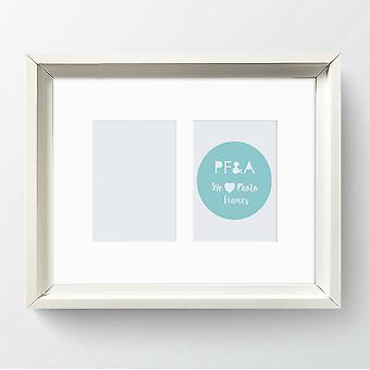 Multi Aperture Photo Frame Picture Hoxton Shabby Chic 12x10
