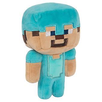 Minecraft, täytetyt eläimet/täytetyt lelut-Diamond Steve