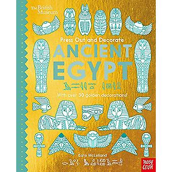 British Museum Press Out and Decorate Ancient Egypt by Kate Mclelland