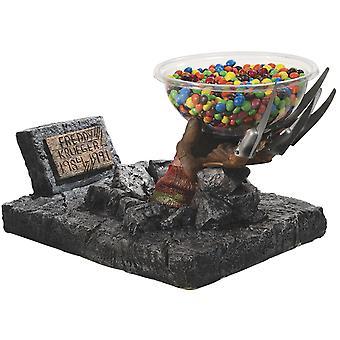 Freddy Krueger Candy bol titular gheare mănușă Candy titular, fabricat din plastic (cu bol)