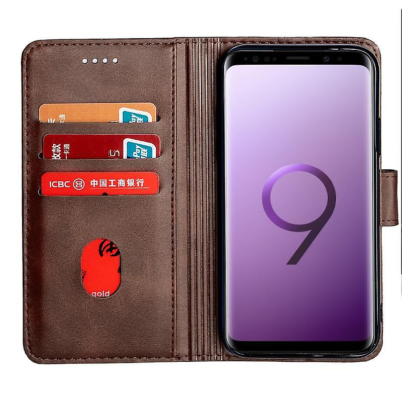 CaseGate phone case case cover for Samsung Galaxy S9 case cover - lock, stand function and card compartment