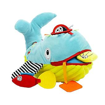 Dolce Toys Knuffel Play And Learn Whale
