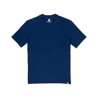 Element Basic Short Sleeve T-Shirt in Blue Depths
