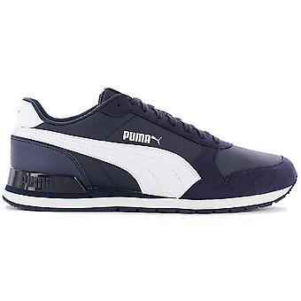 Puma ST Runner V2 NL 365278-08 Herren Schuhe Blau Sneaker Sportschuhe