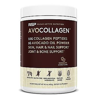 Rsp keto collagen powder, healthy hair, skin, nails, bones & joints, avocado oil (chocolate, avocollagen)
