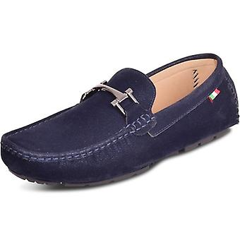 Spindle Mens Italian Velvet Loafers Slip On Classic Loafers Casual Moccasins Driving Boat Deck Shoes 7-12