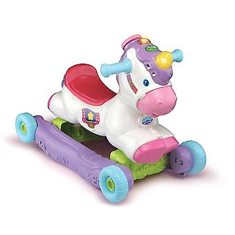 Vtech Rock & Ride Unicorn 2-in-1 Play Rocker e Ride On Toy