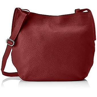Chicca Bags 8895 Red Women's Shoulder bag 38x35x10 cm (W x H x L)