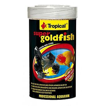 Tropical Super Goldfish Mini Sticks 250 Ml (Fish , Food , Cold Water)