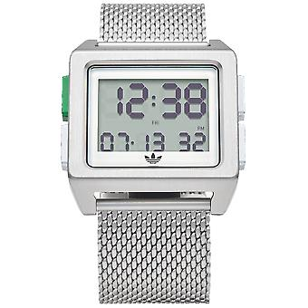 Adidas archive_m1 Digital Men's Watch with Stainless Steel Bracelet Z013244-00