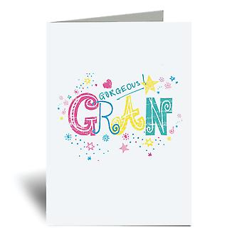 Gorgeous Gran A6 Greeting Card