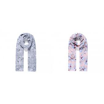 Intrigue Womens/Ladies Lightweight Floral Print Scarf