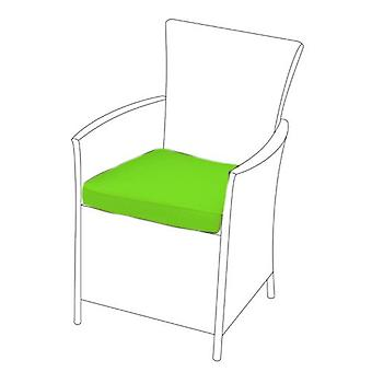 Lime 8 Pack of Replacement Dining Chair Cushions to fit Rattan Garden Furniture