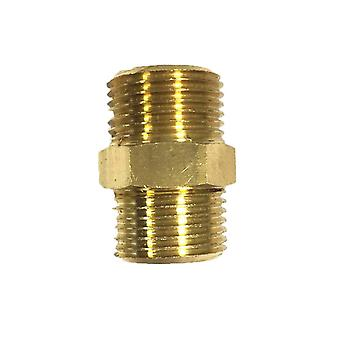 Niplex in RAW Brass, zwaar van 3/8