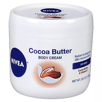 Nivea cocoa butter body cream jar, 15.5 oz
