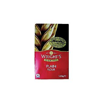 Wrights Baking Wrights Plain Flour - 1.5kg - Single
