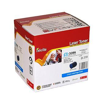Inkrite Laser cartucho de Toner compatível com Samsung CLP 300/CLX 3160/216 x ciano