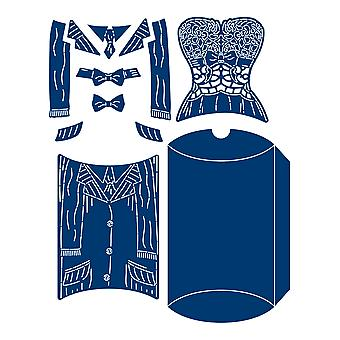 Tattered Lace Bodice & Shirt Die Set