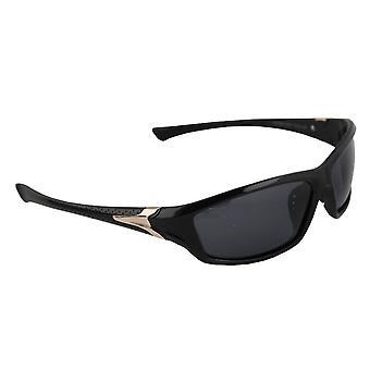Gafas de sol Hombres Polaroid Sport - Oro / Negro con brillenkokerS331_1 gratis