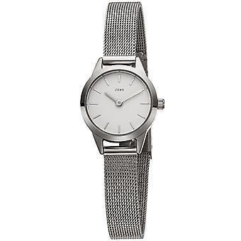 JOBO reloj de pulsera para mujer cuarzo analógico acero inoxidable