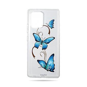 Rumpf für Samsung Galaxy S10 Lite weichen Schmetterling auf Arabesque
