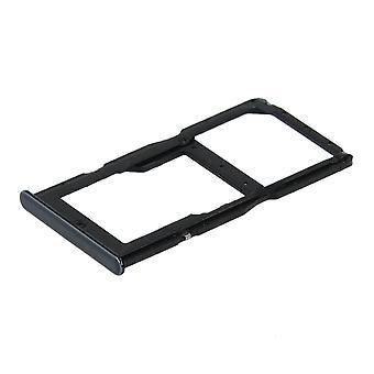 Ekte Huawei P30 Lite - SIM og minnekort brett - midnatt svart - 51661LWL
