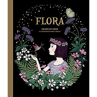 Flora Coloring Book by Maria Trolle - 9781423653554 Book
