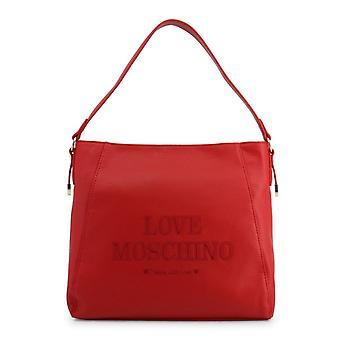 Love Moschino Women Red Shoulder bags -- JC42936880