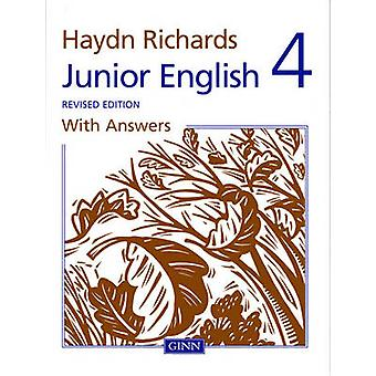 Haydn Richards Junior English Book 4 With Answers Revised Edition by Angela Burt