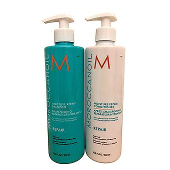 Moroccanoil Vochtreparatie Shampoo & Conditioner DUO 16,9 OZ Elk