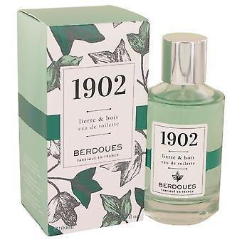1902 Lierre & Bois Eau De Toilette Spray Berdoues 3.38 oz Eau De Toilette Spray