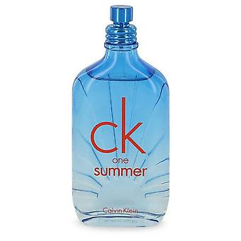 CK One Summer Eau de Toilette Spray (2017 Tester) Calvin Klein 3,4 oz Eau de Toilette Spray