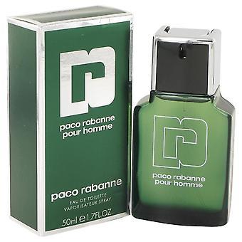 Paco Rabanne Eau De Toilette Spray By Paco Rabanne 1.7 oz Eau De Toilette Spray