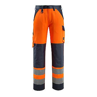 Mascot maitland hi-vis trousers 15979-948 - safe light, mens -  (colours 1 of 2)