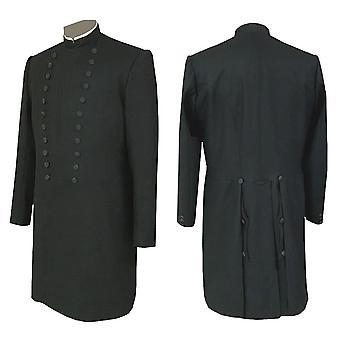 فرسان الهيكل الماسونية الماضي قائد معطف فستان - طويل القامة