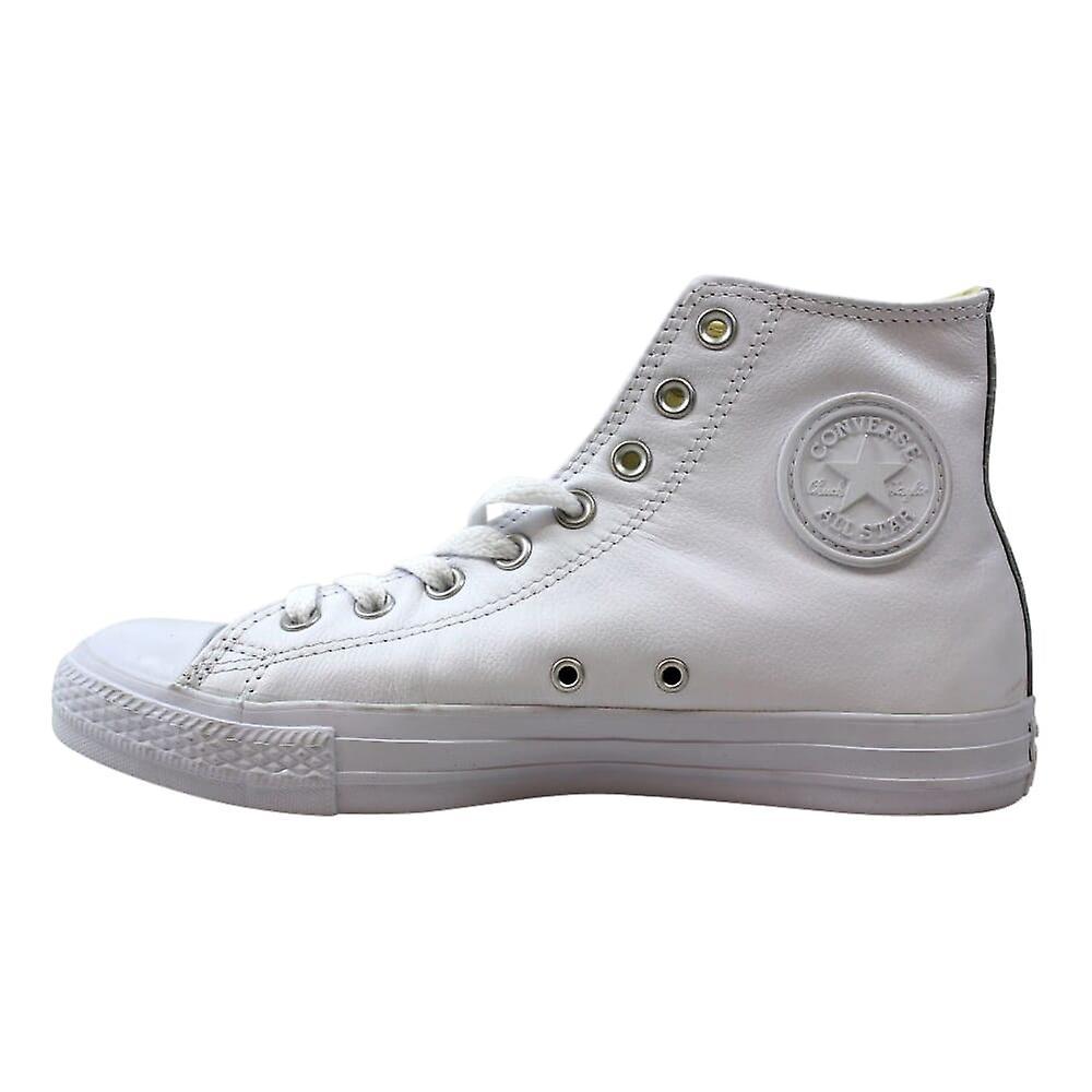 Converse Chuck Taylor All Star Skinn Hei Hvit Monokrom 1t406 Menn