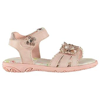 SoulCal Girls Vel Strap Sandals Infant Flat Shoes Touch Closure Wide Foot