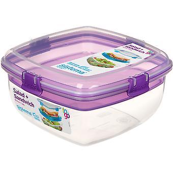 Sistema Salad and Sandwich To Go, Purple