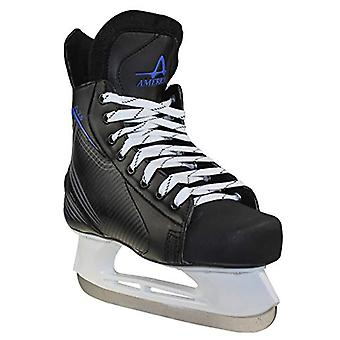 American Ice Force 2.0 Hockey Skate, Black, Size 8.0