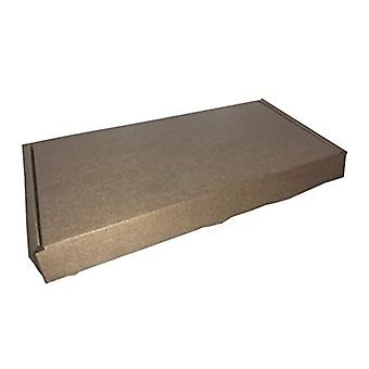 Royal Mail Large Letter Postal Box Pip Mailing Shipping Cardboard Cartons DL Brown 217 x 108 x 20mm 25 Pack