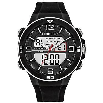 Ruckfield Watch 685061 - Multifunction Ana-digital Silicone Black Men