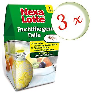 Sparset: 3 x NEXA LOTTE® fruit fly trap, 1 piece