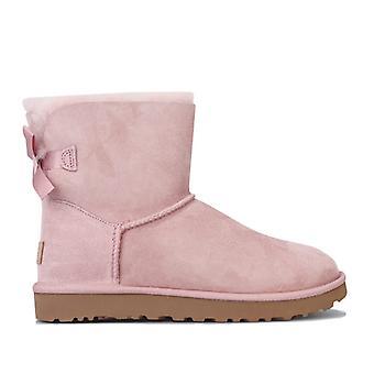 Women's Ugg Australia Mini Bailey Bow II Boots in Pink